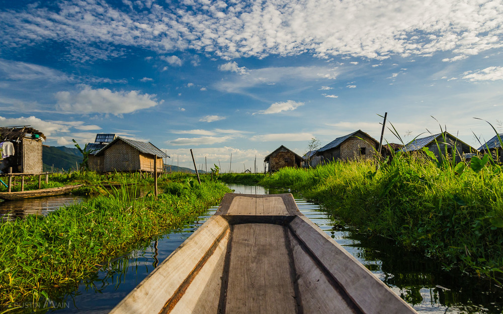 Welcome to your view of   Inle Lake.