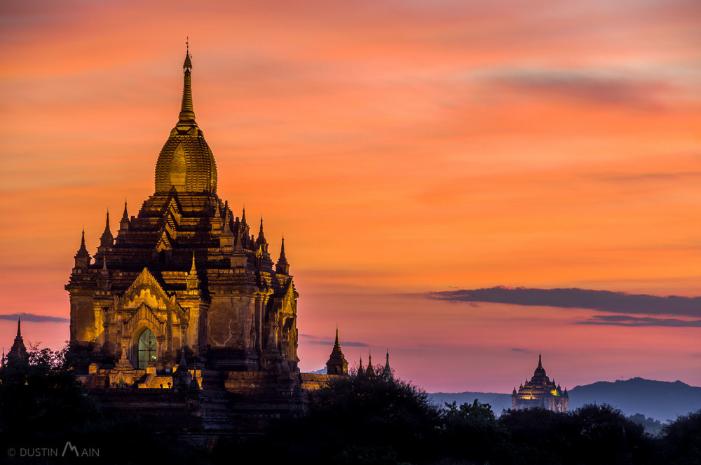 Colors of the Bagan sunset