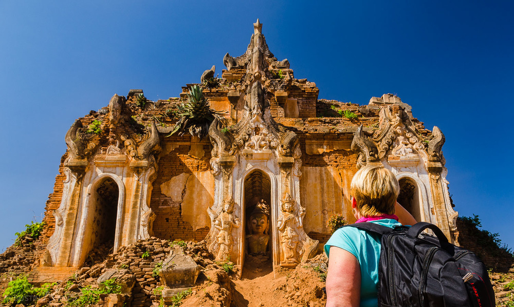 Explore thousand-year-old temples in Myanmar.  BYOBP (Bring Your Own Backpack) © Dustin Main 2014