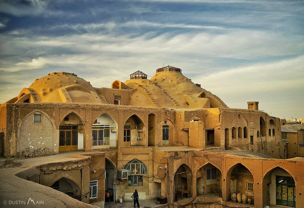 The Kashan Bazaar (Iran) looks like it's straight out of a Mad Max film © Dustin Main 2016