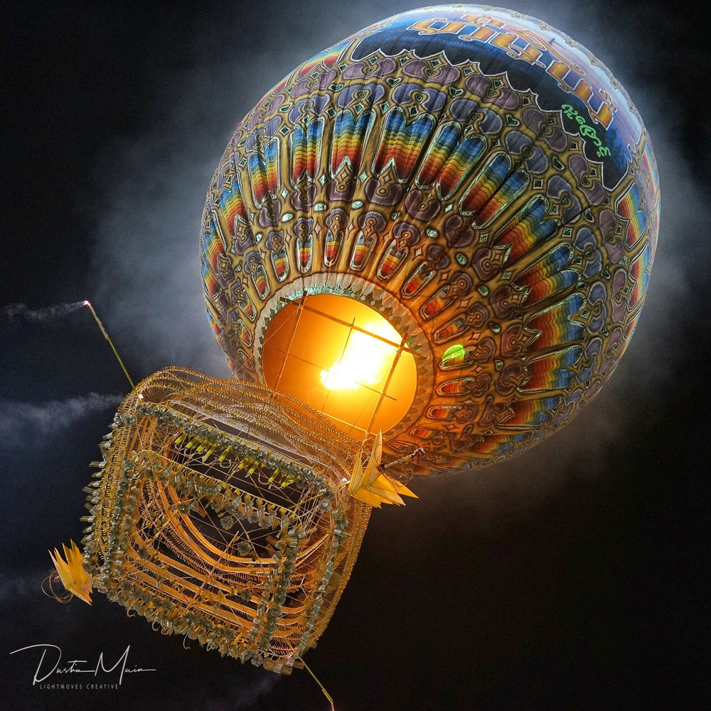 Unlike anything else... - Fire Balloon Festival in Taunggyi (Tazaungdaing)