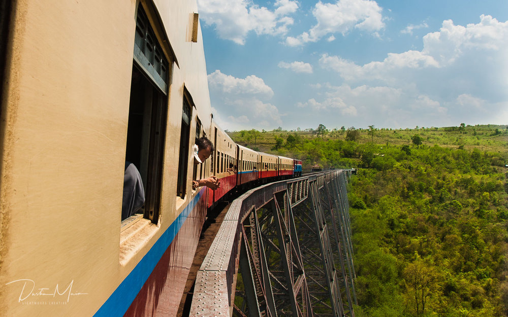 Journey on the Train - Un-Tour to Myanmar