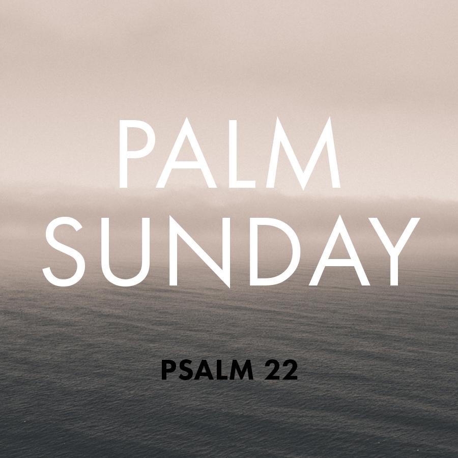 April 13, 2014 Psalm 22