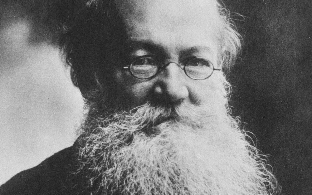 """""""An Englishman who had learned the ways of nature in the tropics was almost bound to view evolution differently from a Russian nurtured on tales of the Siberian wasteland."""" Kropotkin Was No Crackpot by S.J. Gould"""