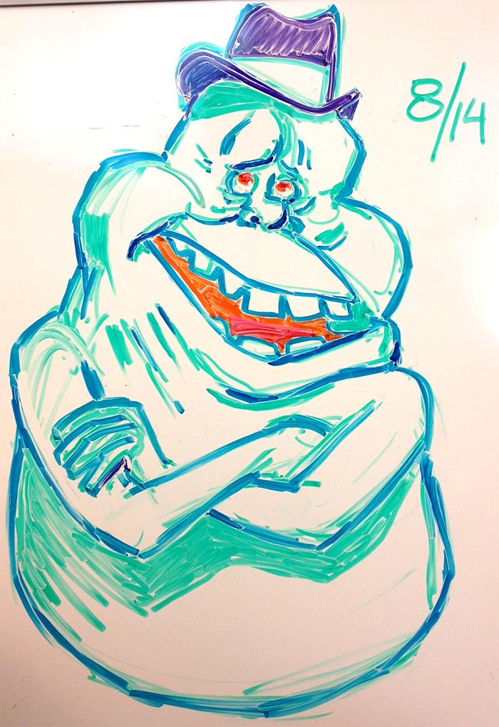 Chutzpah, 8/14