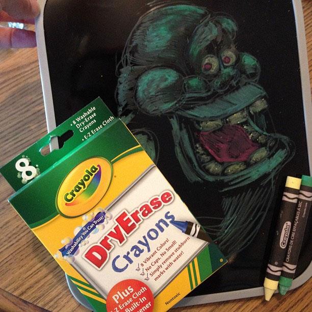 Dry Erase Crayons, 7/6