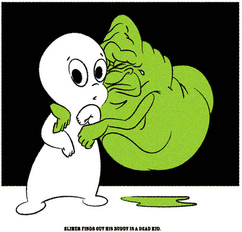 Slimer's Buddy, by Jason Dryg