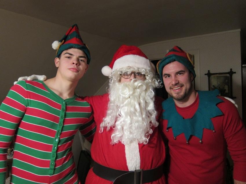 I was Santa
