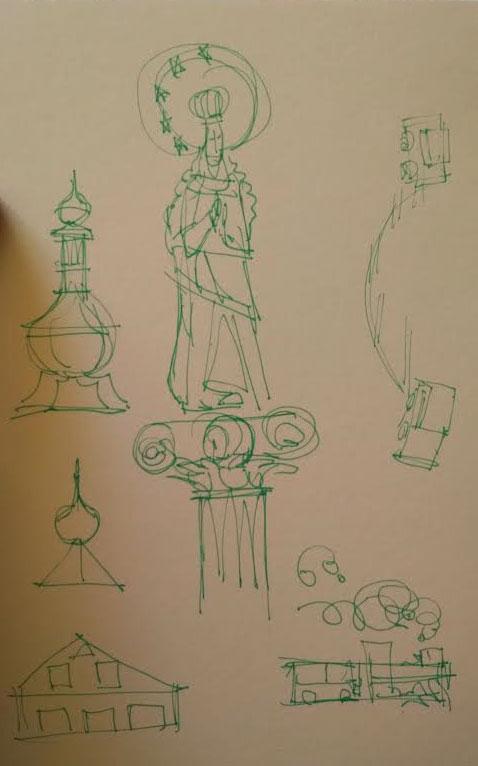 Anger concept sketch 1