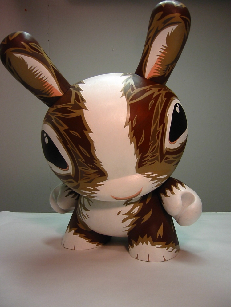 Custom Dunny for Kidrobot, 2003