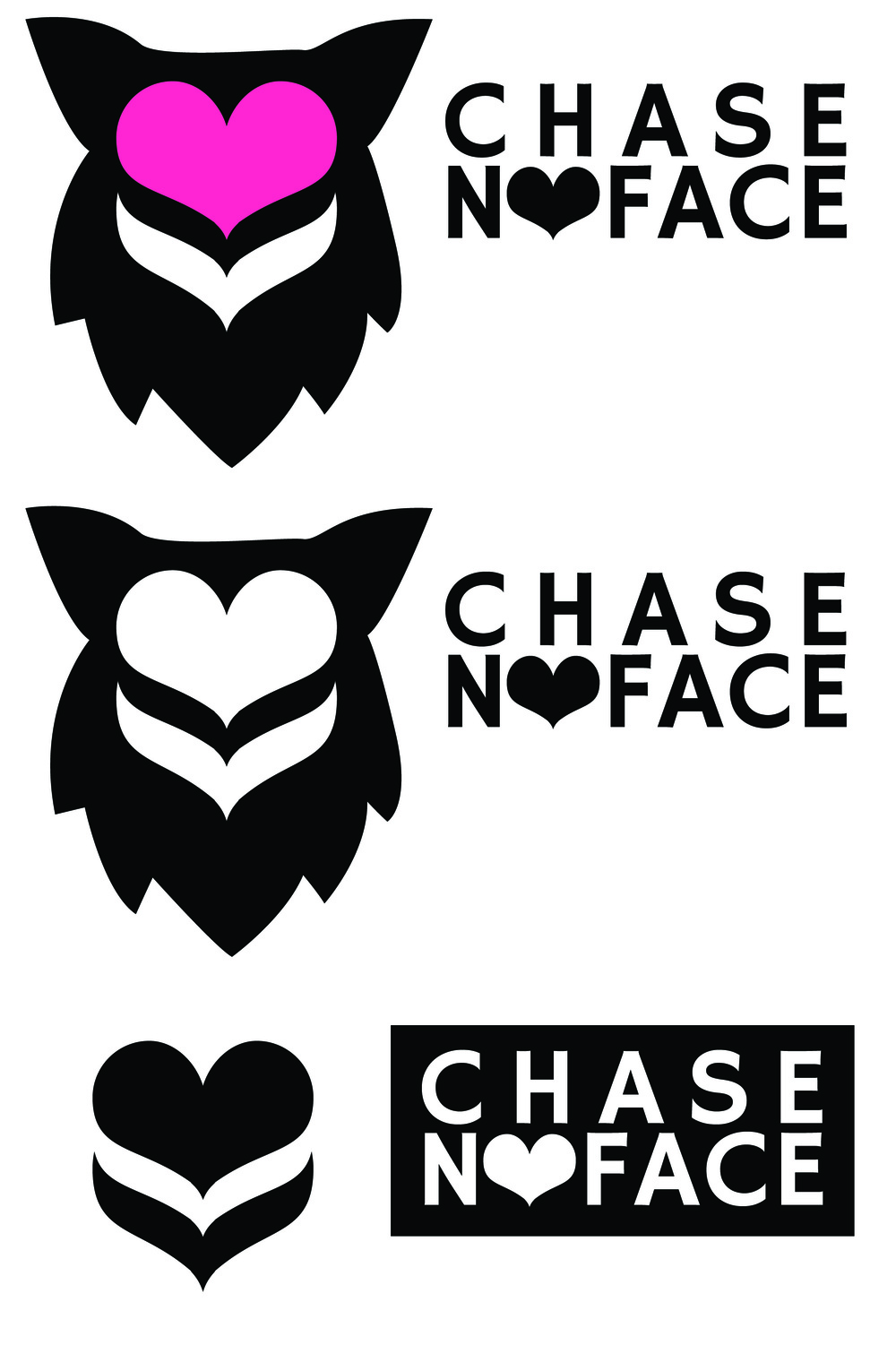 Chase No Face Logo