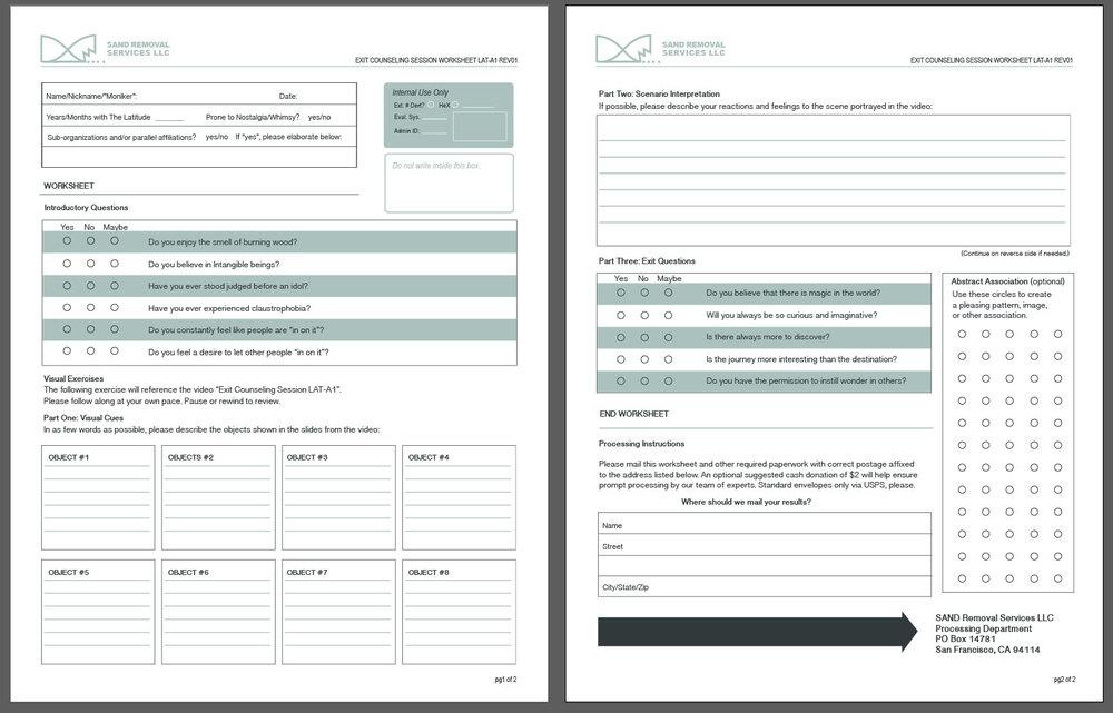 Worksheet LAT-A1 REV01