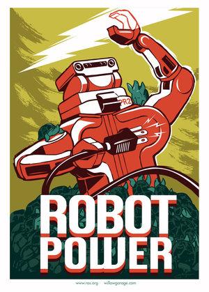 PR-2 Robot Artwork