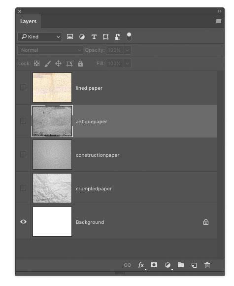 PaperTextures.psd Layers