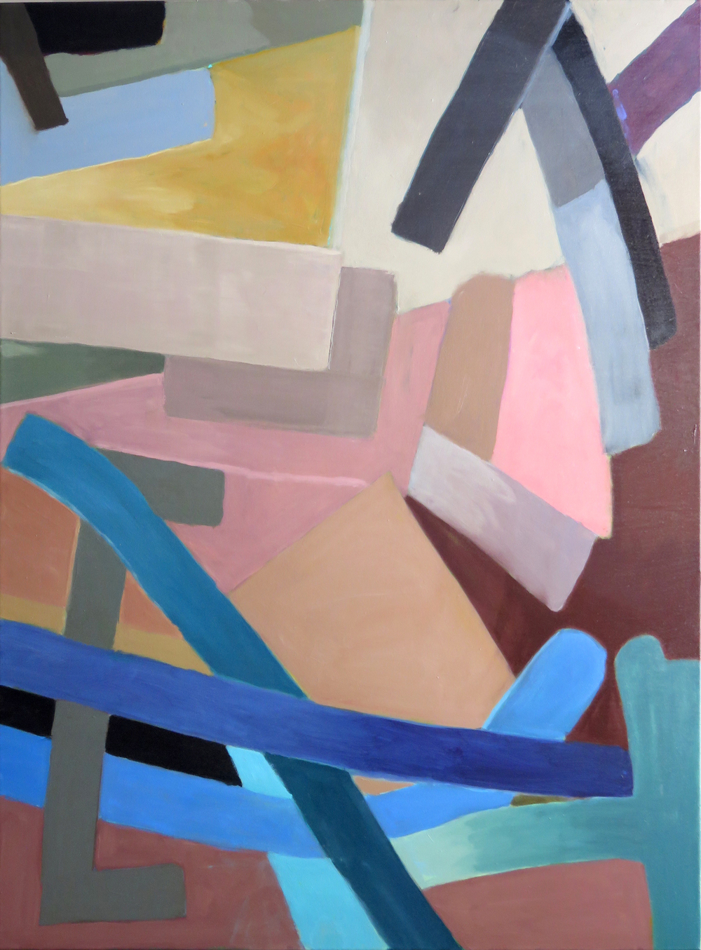 Roundabout, 2016 Oil on canvas, 40 x 30 inches