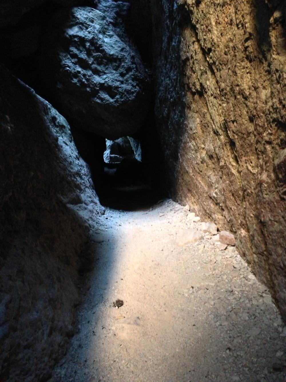 Passageway, Balconies Cave