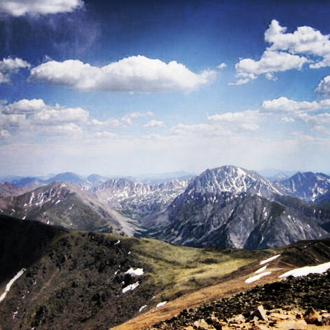 Summit View, Mt. Elbert, Colorado
