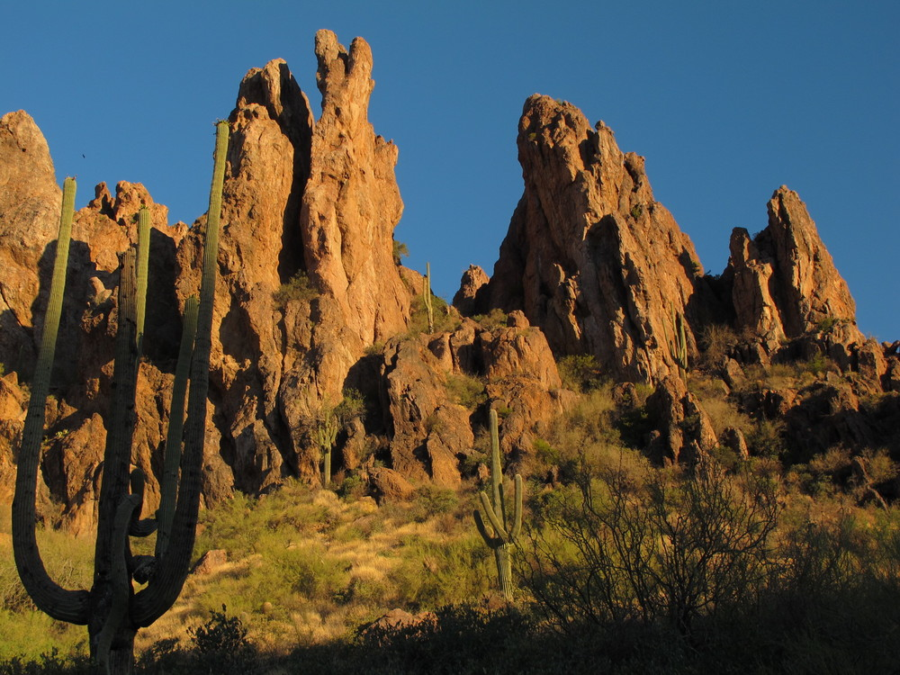 Peralta Trailhead, Superstition Mountains, Arizona