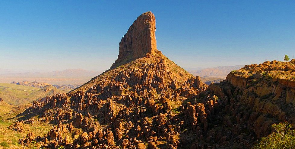 Weavers Needle, Superstition Mountains, Arizona
