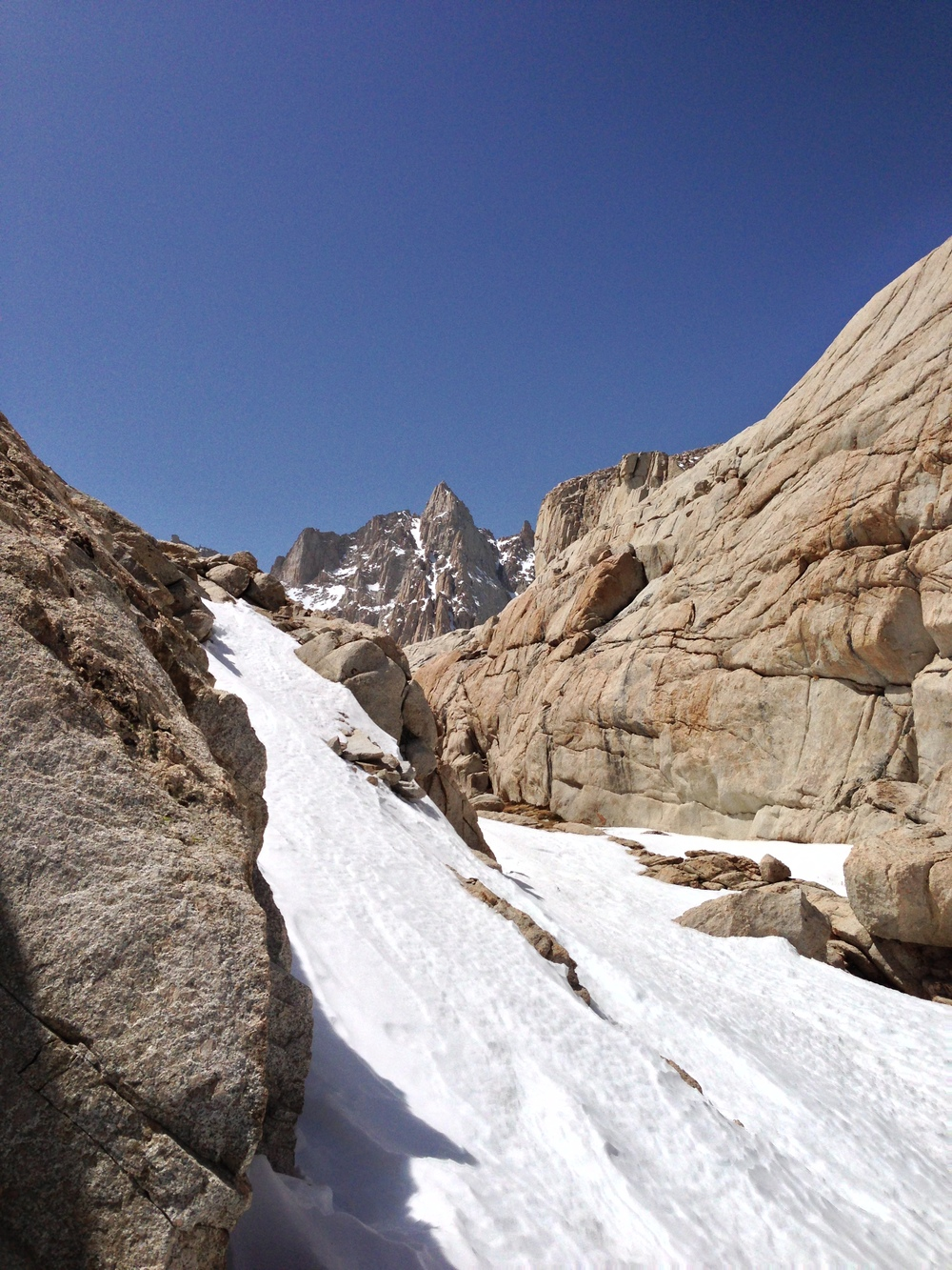Mt. Whitney Trail, April 2013