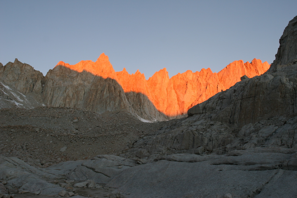 Alpineglow, Trail Camp, Mt. Whitney, 2007