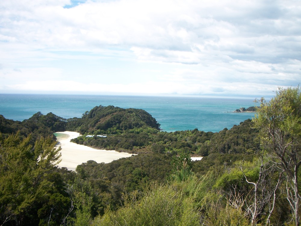 Saddle view, Coast Track, Abel Tasman National Park