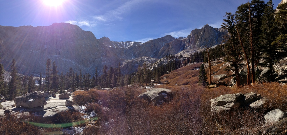 Sierra Nevada Range, Grass Lake, John Muir Wilderness, Meysan Lake Trail