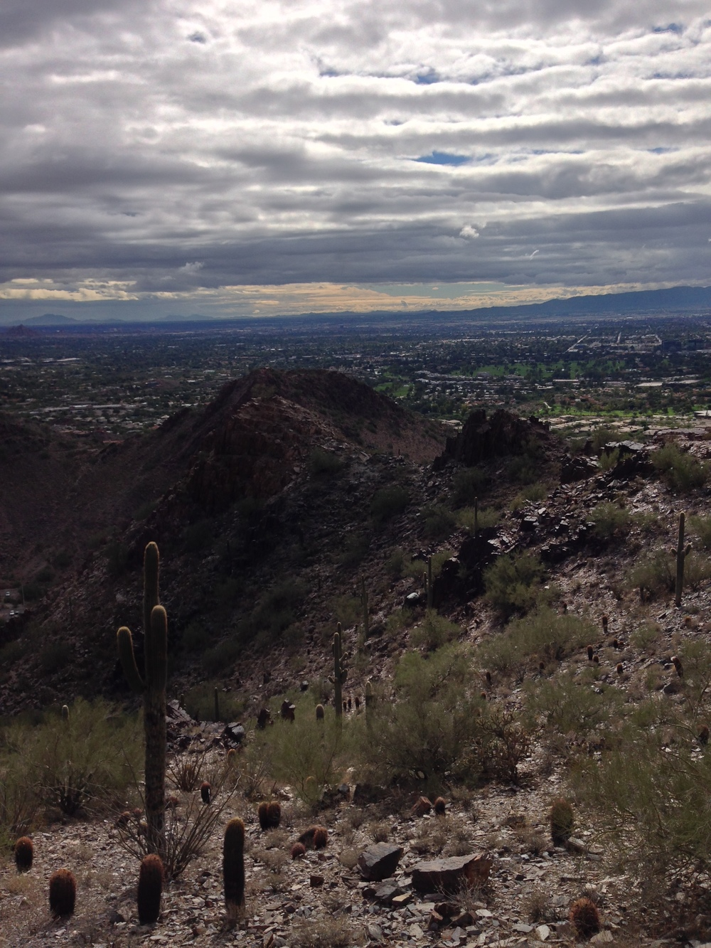 Mid-Trail, Piestewa Peak (Peak Three)