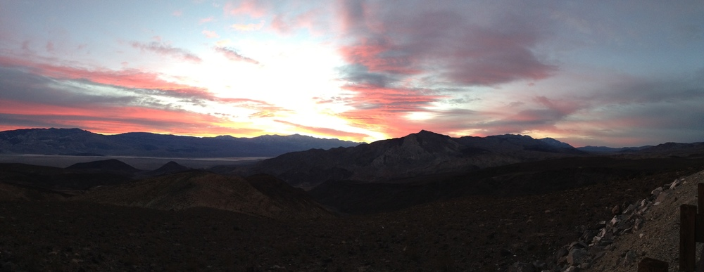 Sunrise, Father Crowley Vista, February 2, 2014