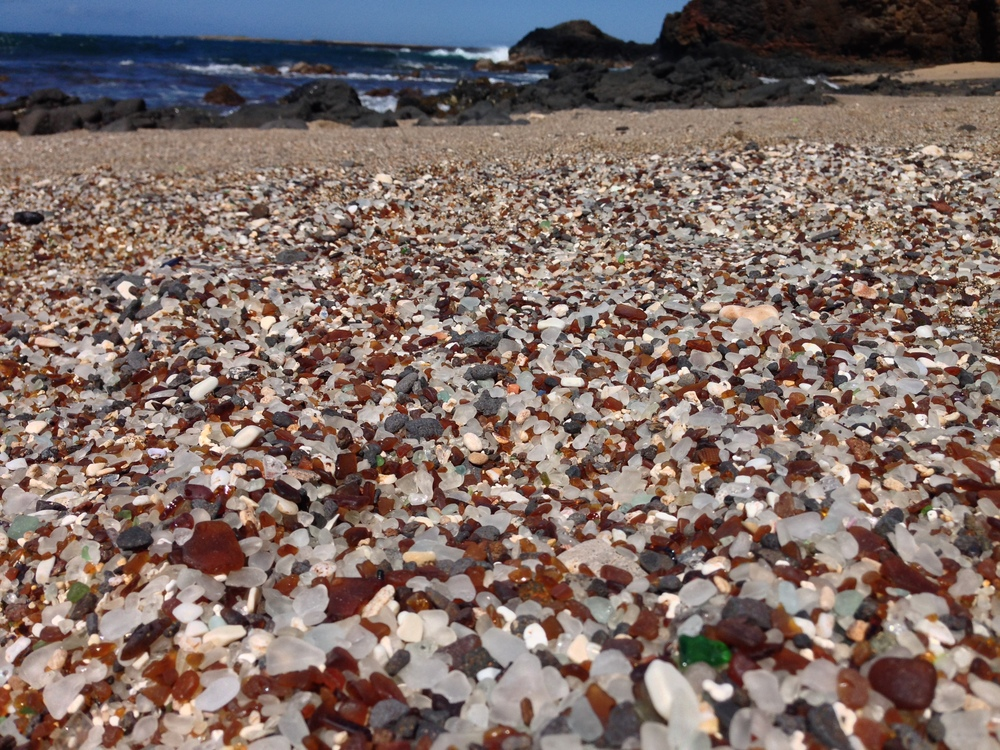 Glass Beach, Kauai, April 2014