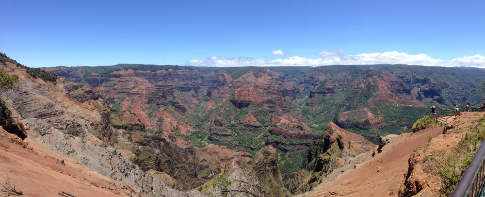 Waimea Canyon, April 2014