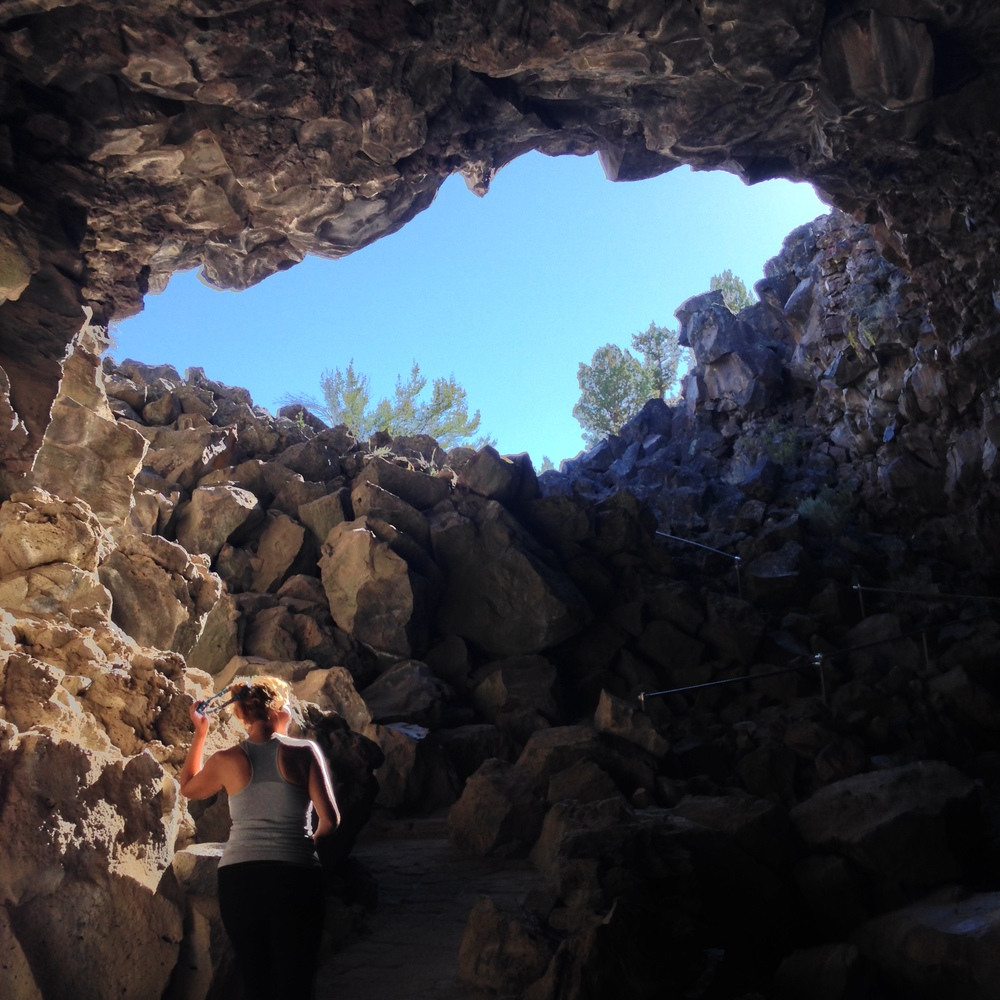 Exiting Skull Cave