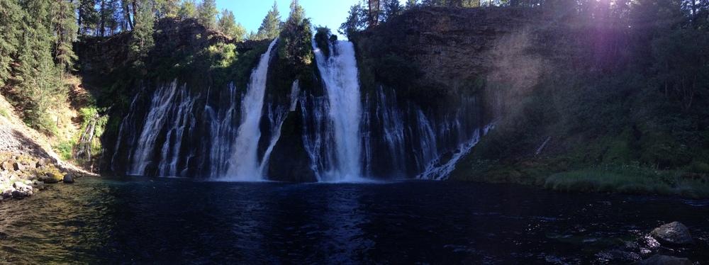 Burney Falls, July 2014