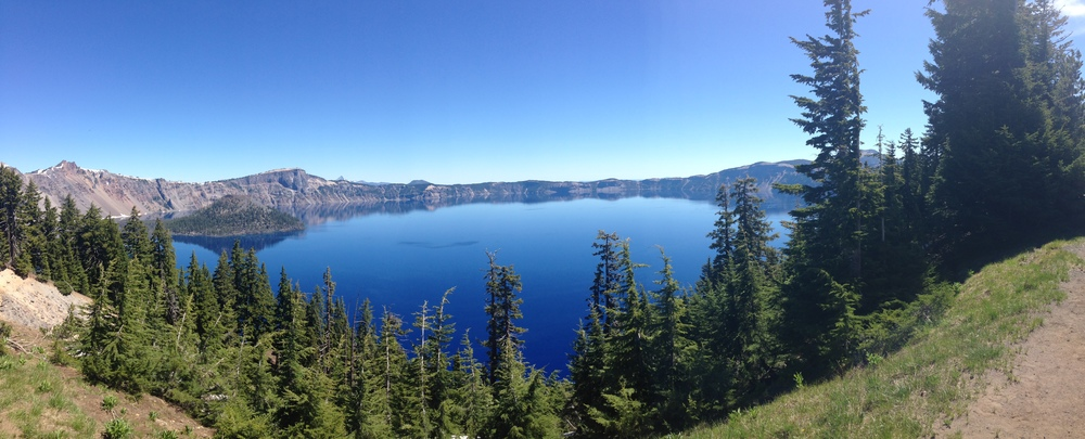 Crater Lake, July 2014