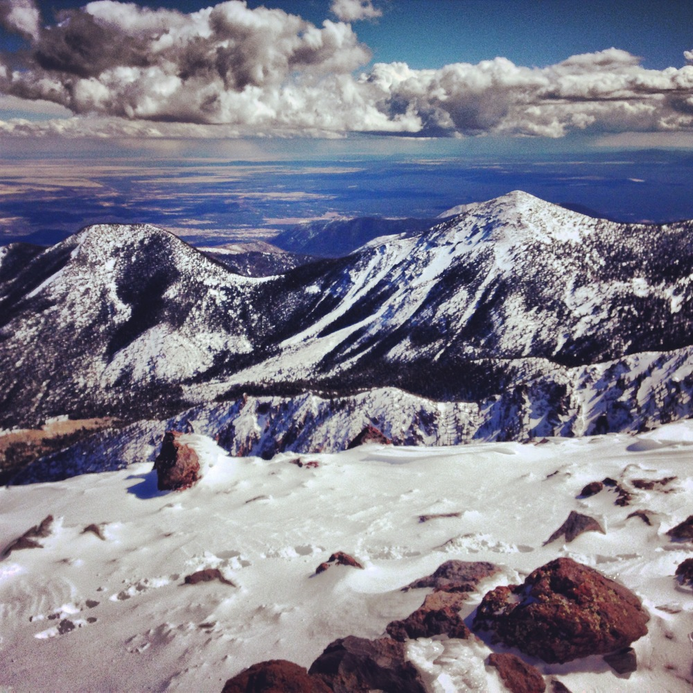 Mt. Humphreys, Arizona, 2014