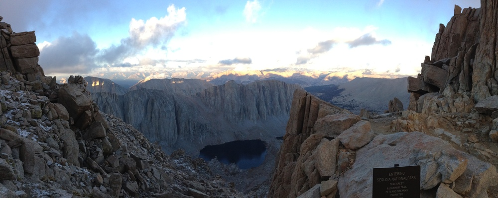 Trail Crest, Mount Whitney, September 21, 2014