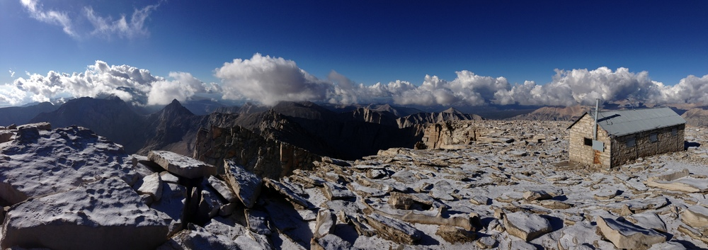 Summit, Mount Whitney, September 21, 2014