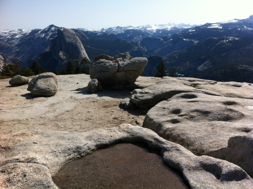 Half Dome, as viewed from Sentinel Dome, Spring