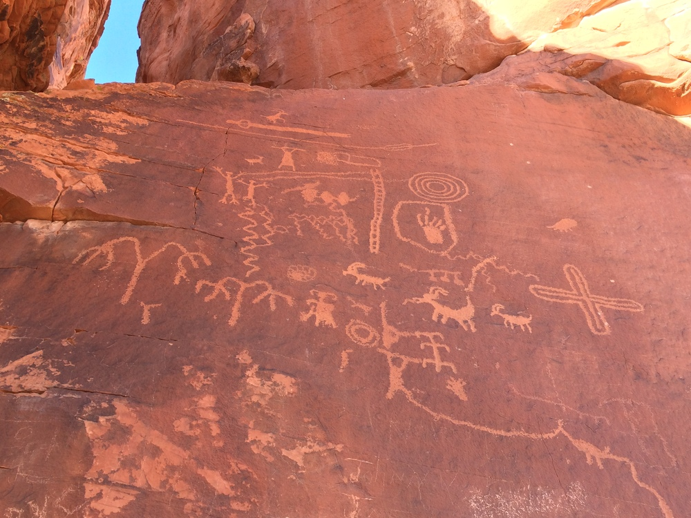 Atlatl Rock, Valley of Fire