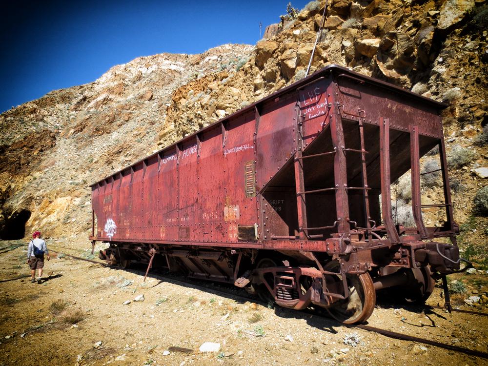 Abandoned Rail Cars, Goat Canyon Trestle
