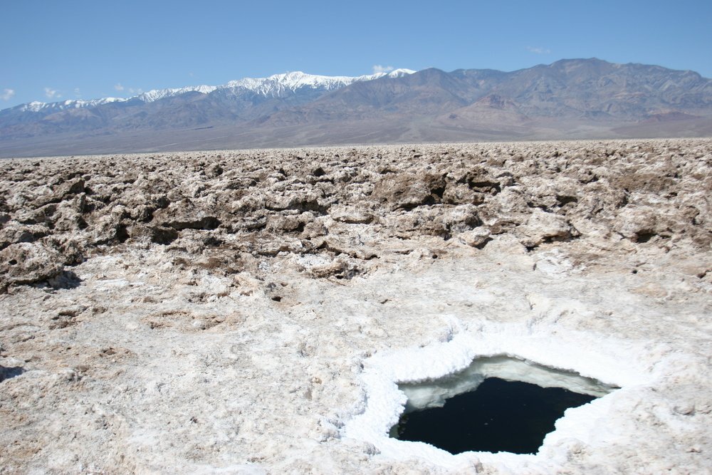 Salt Pool, Devil's Golf Course (2005)