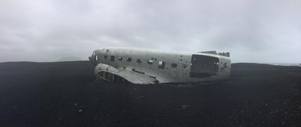 Sólheimasandur Beach Plane Wreck, May 2015