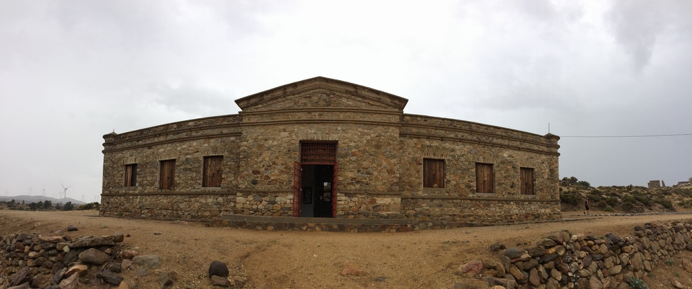 Campo Alaska, a nearby INAH Museum in the town of Rumorosa, July 2015