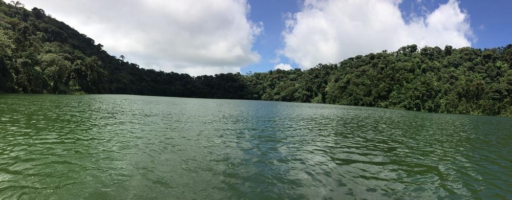 Laguna Lake Chato, Cerro Chato