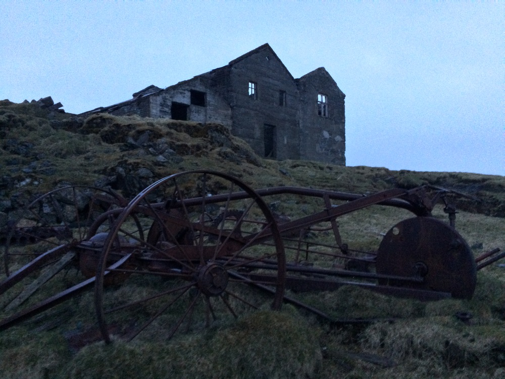 Abandoned Farmhouse, East Coast Iceland