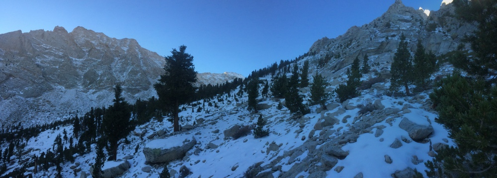 Meysan Lakes Trail, November 13, 2015