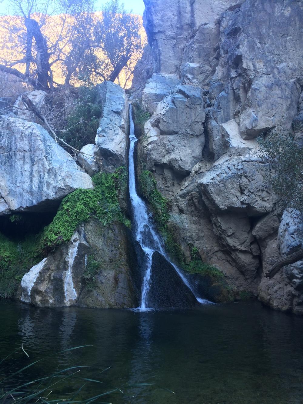 Darwin Falls, November 2015