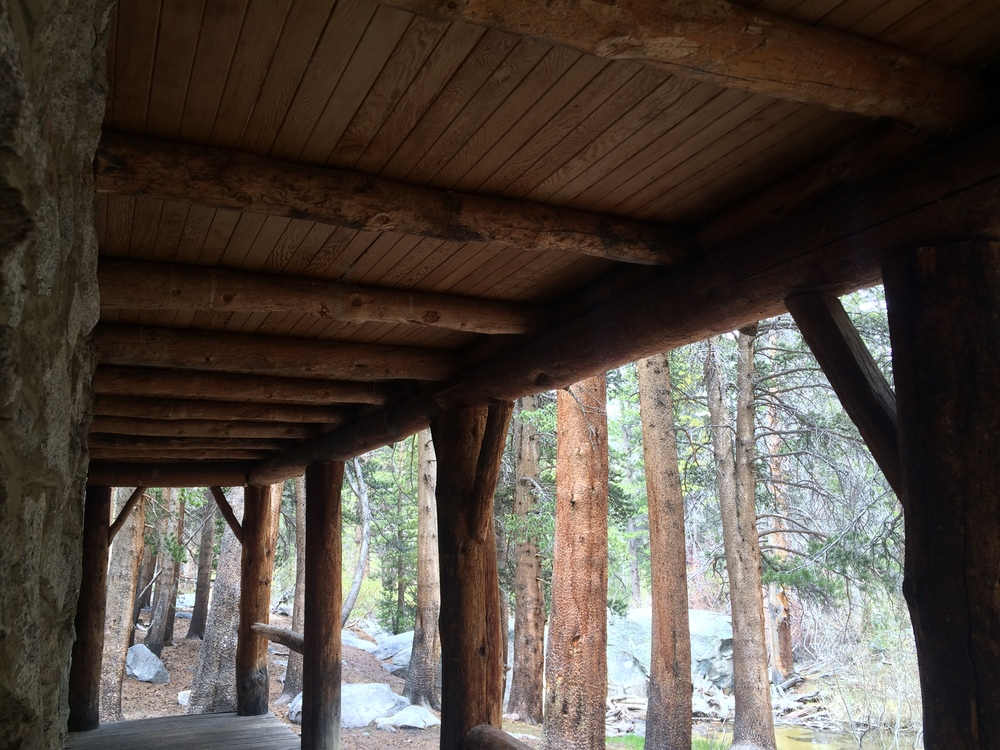 The Lon Chaney Cabin is an excellent day hike destination in the John Muir Wilderness