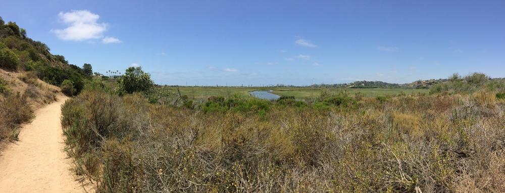 La Orilla Trail, San Elijo Lagoon Ecological Reserve