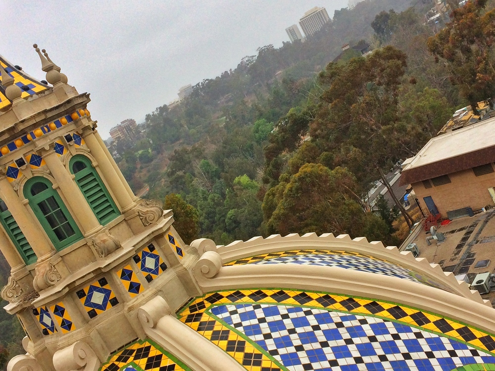 The California Tower is an iconic spot in Balboa Park, and provides great views of the city.